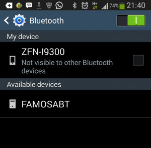 Pairing ITEAD Bluetooth Shield